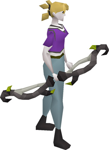 Twisted Bow Equipped Render from OSRS
