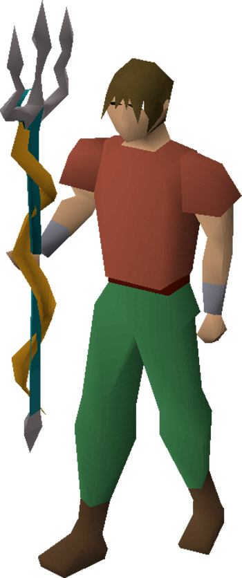 Trident of the Seas from OSRS