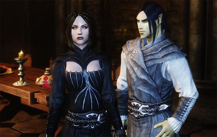 Vampire Armor Retexture Mod for Skyrim