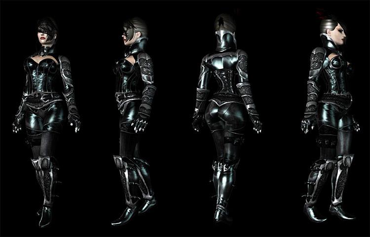 Lustmord Vampire Female Armor Mod Preview