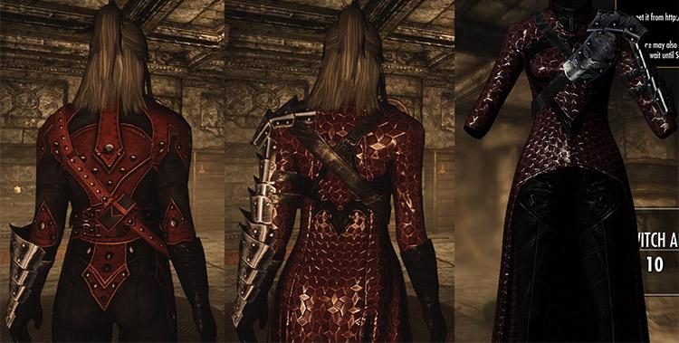 Blood Witch Armor Mod for Skyrim