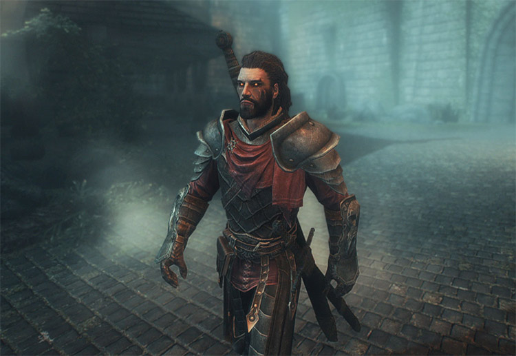 Volkihar Knight Armor for Vampires / Skyrim Mod