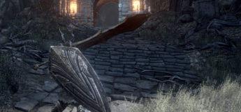 DS Black Knight Shield Modded into Skyrim