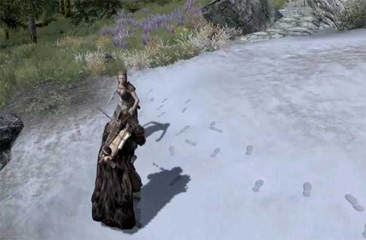 TK Dodge Dark Souls Mod for Skyrim