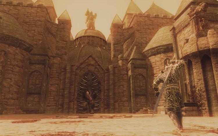 Vigilant Dark Souls Mod for Skyrim