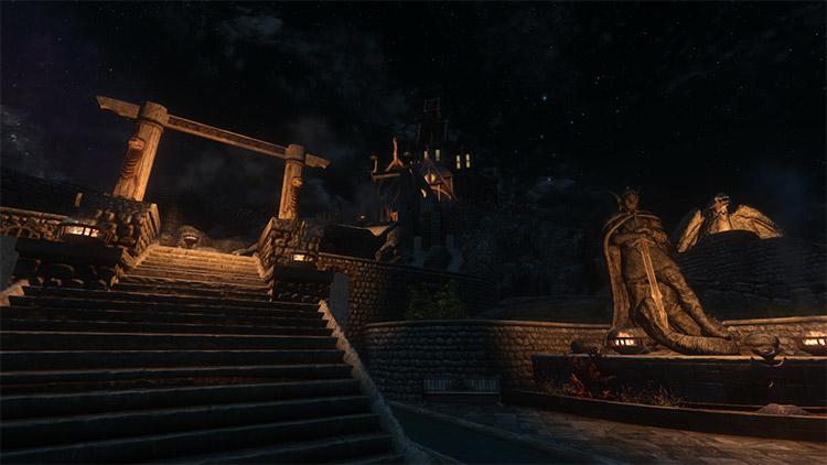Elder Souls ENB / Dark Souls Skyrim Crossover Mod