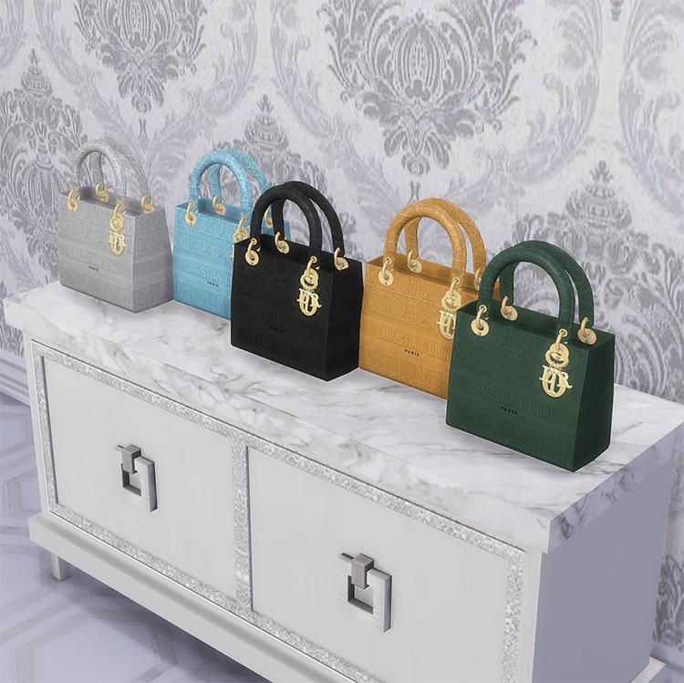 Lady Dior Bag / Sims 4 CC