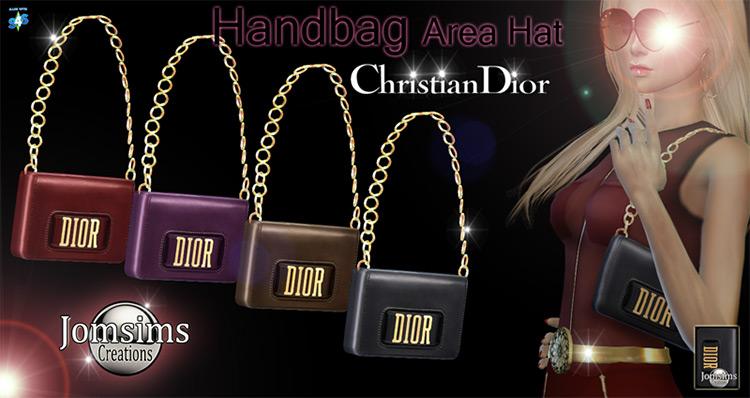 Handbag Christian Dior CC for The Sims 4