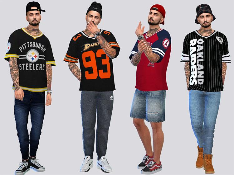 Sports Jersey Tees / TS4 CC