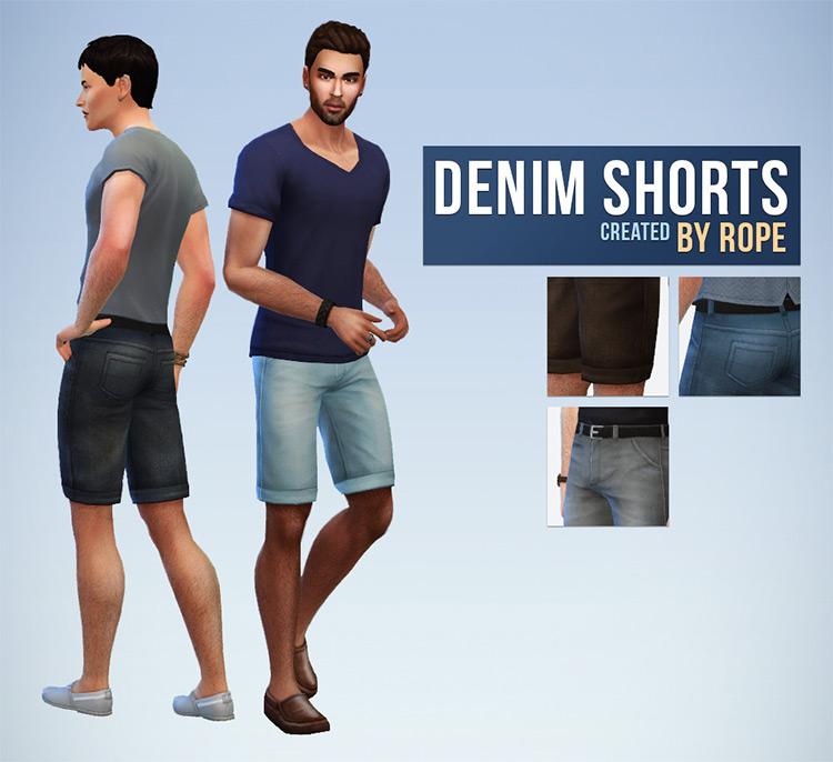 Denim Shorts / TS4 CC
