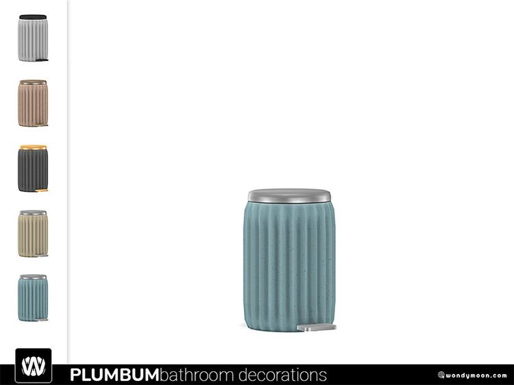 Plumbum Trash Bin / Sims 4 CC