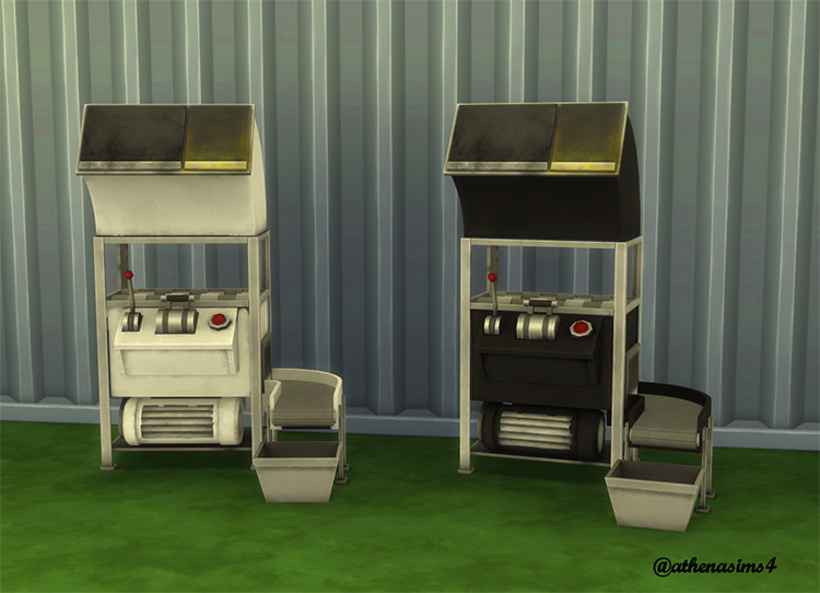 Eco Lifestyle Home Recycler Recolor CC for Sims 4