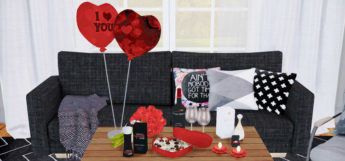 Dreamteamsims Valentines Clutter Set / The Sims 4