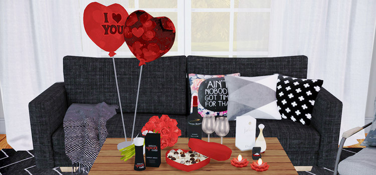 Cute Valentine S Day Cc For The Sims 4 All Free Fandomspot