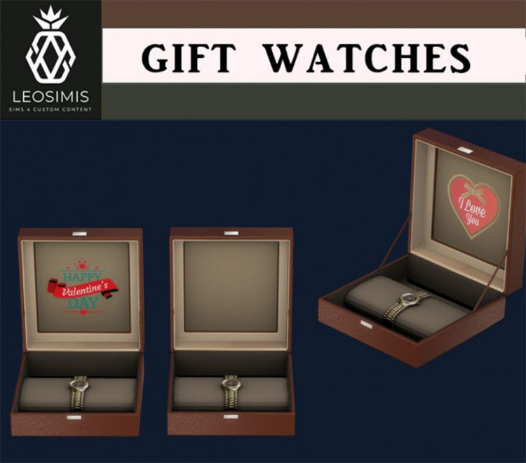 Gift Watches / Sims 4 CC