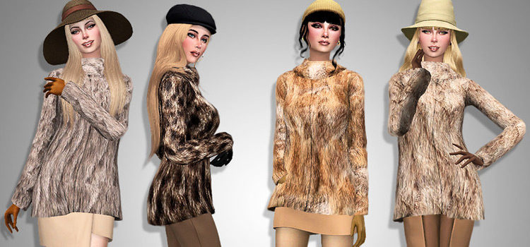 The Sims 4: Best Fur Coats CC To Download