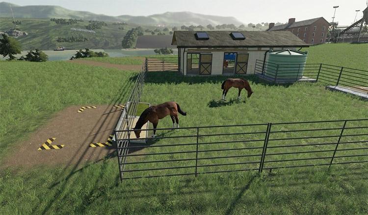 Horse Breeding FS19 Modded Stable