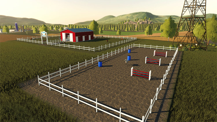 American Horse Ranch Mod for FS19