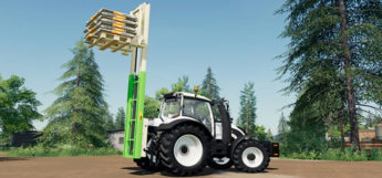 FS19 Three-point forklift mod preview