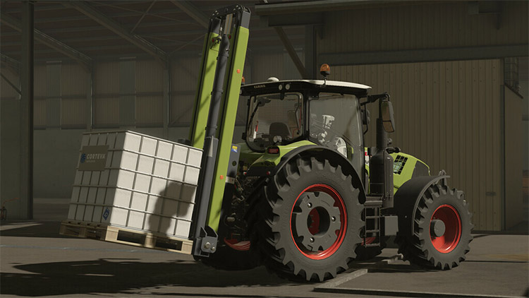 Three-Point Forklift Mod for FS19