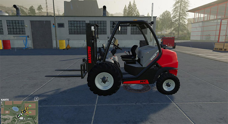 Manitou MC18 Container Edition Forklift Mod