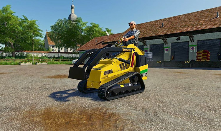 Vermeer S450 TX Yellow Forklift-style Mod