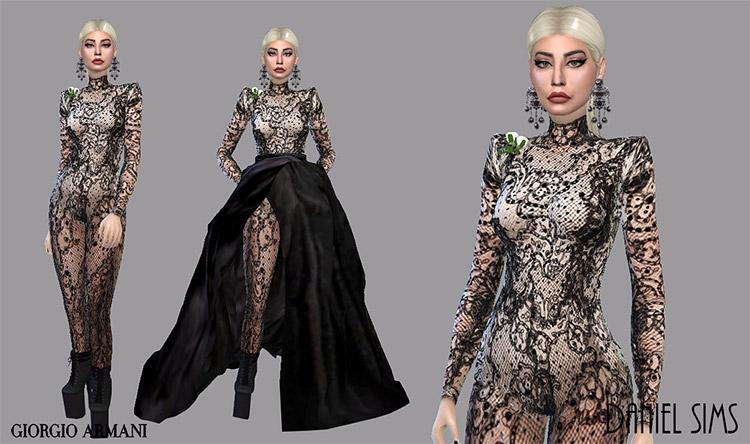 Lady Gaga in Giorgio Armani CC