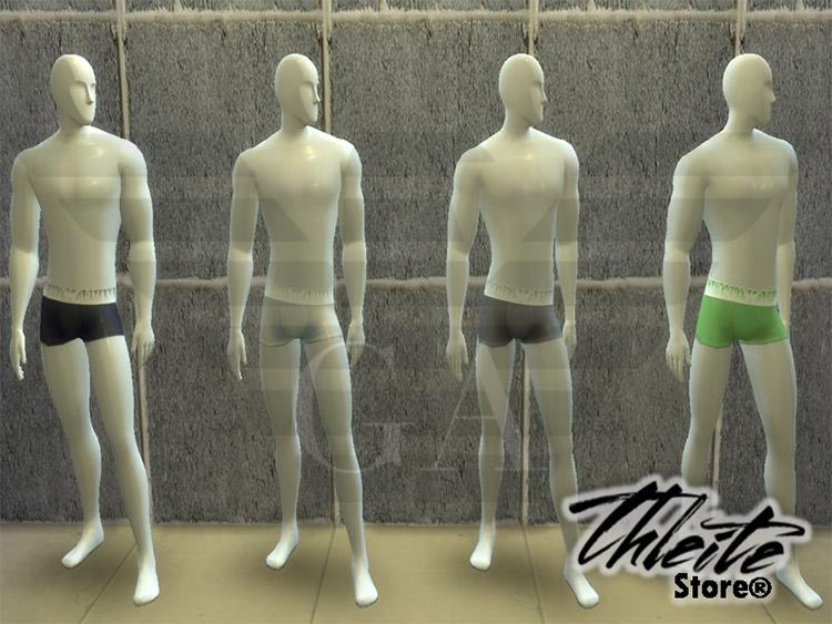 Emporio Armani Underwear CC for The Sims 4