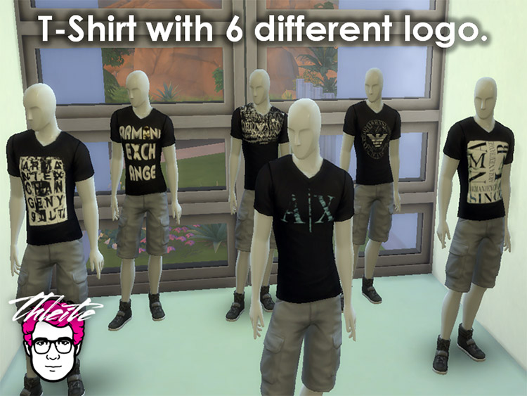 A|X T-shirt Armani Brand CC