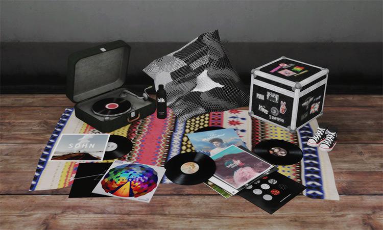 Vinyl Records / Sims 4 CC