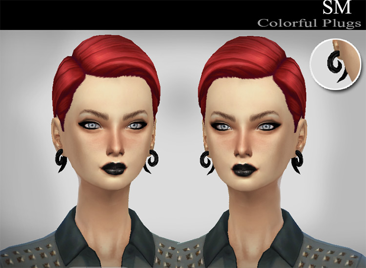 Colorful Plugs CC for The Sims 4