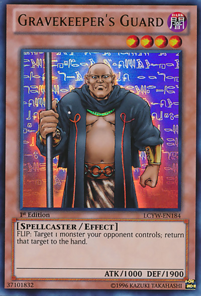 Gravekeeper's Guard YGO Card