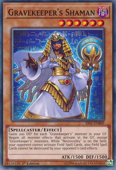 Gravekeeper's Shaman YGO Card