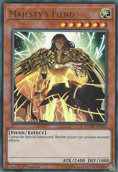 Majesty's Fiend Yu-Gi-Oh Card