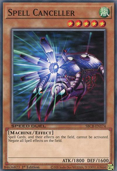 Spell Canceler Yu-Gi-Oh Card