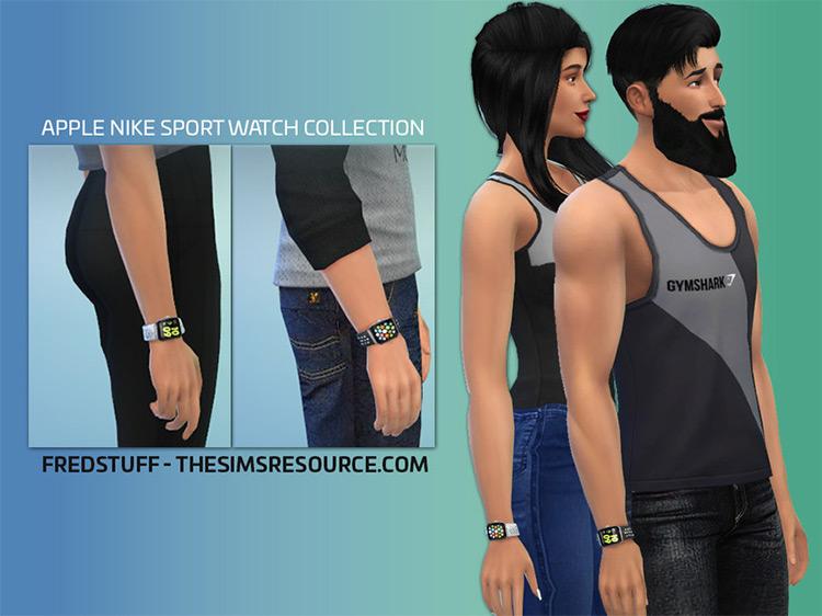 Apple Nike Sports Watch / TS4 CC