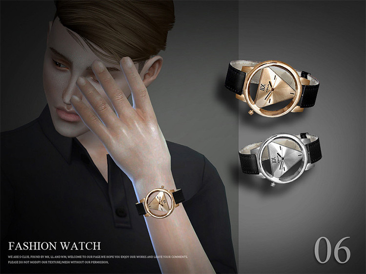 IIX Watch Custom Content for The Sims 4
