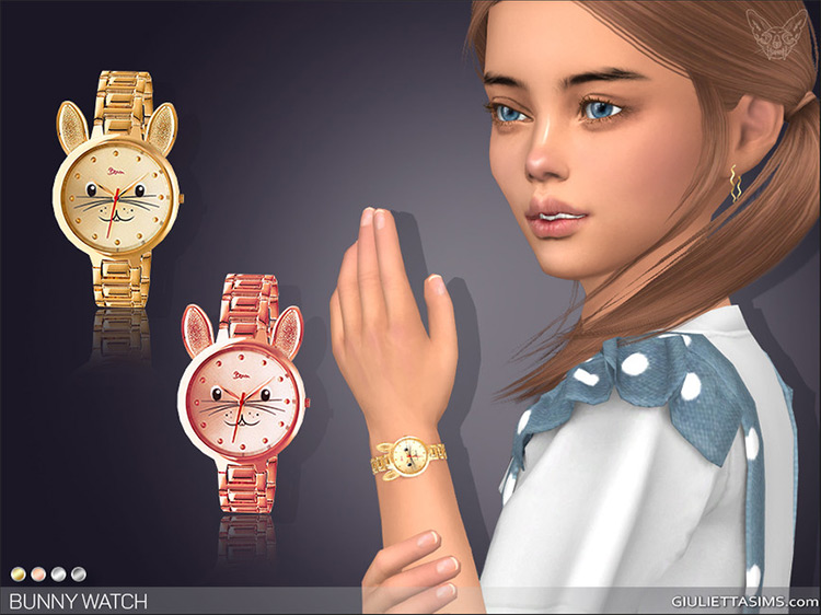 Bunny Watch for Kids / Sims 4 CC