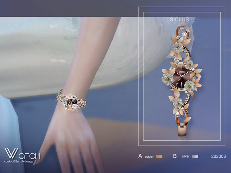 Petal Watch for The Sims 4