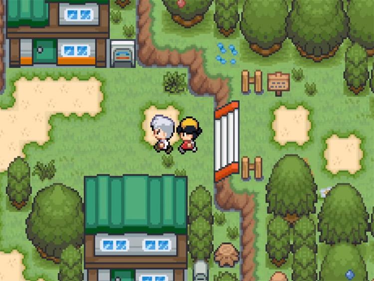 Pokémon Saffron Hack Screenshot