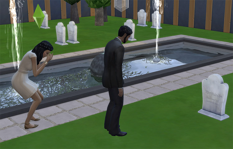 Mortem Mod Preview for The Sims 4