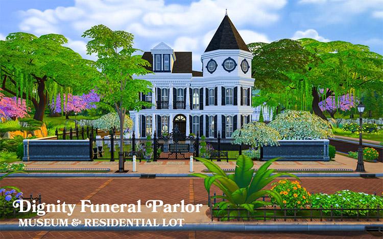 Dignity Funeral Parlor Lot Mod / TS4