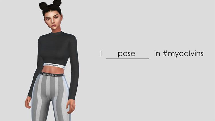 Calvin Klein Jeans for Sims 4