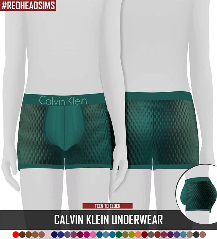 Calvin Klein Men's Underwear Sims 4 CC