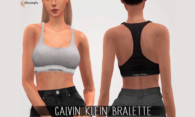 Calvin Klein Bralette for Sims 4