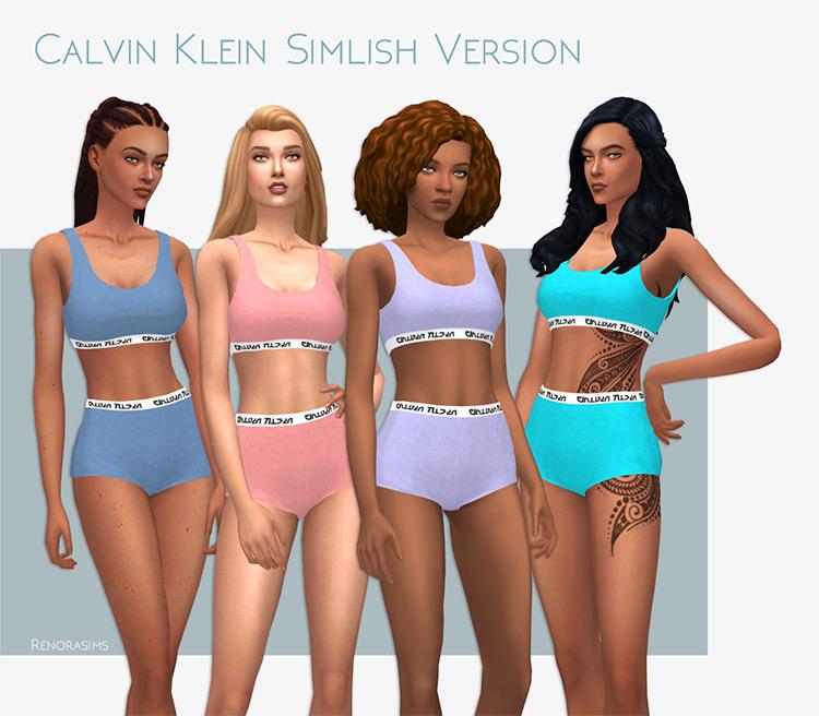 Calvin Klein Simlish Version for Sims 4