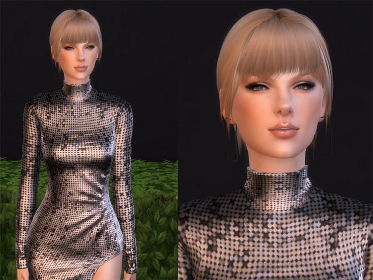 Taylor Swift Sims 4 CC Build