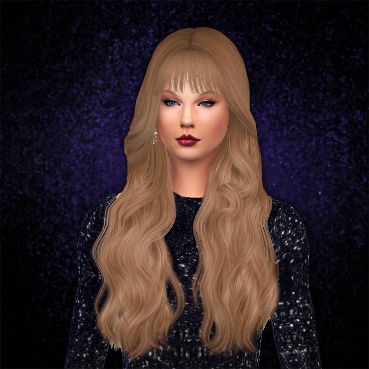 Taylor Swift Glitter Bodysuit CC / Sims 4