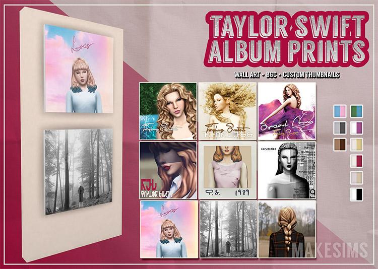 Taylor Swift Album Prints CC / TS4