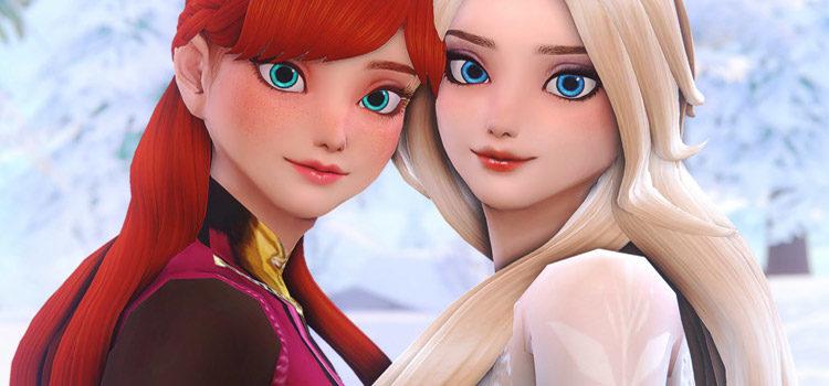 The Sims 4: Best Frozen & Elsa CC For Arendelle Fans
